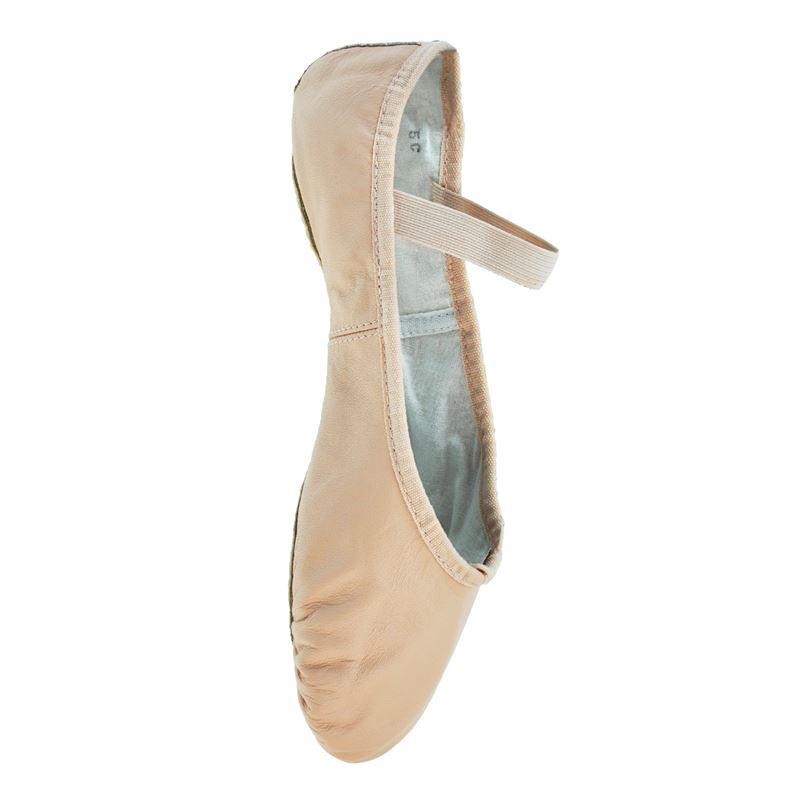Starlite Flexi Pink Split Sole Sole Leather Ballet Shoes 13 s MW0Xg