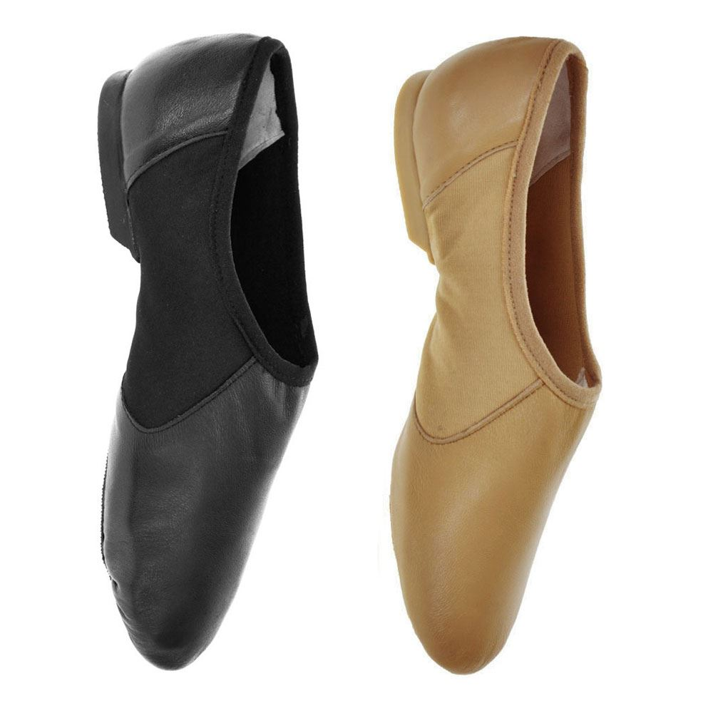 Starlite Schwarz Agility Jazz Schuhe Split Sole 7,5 L