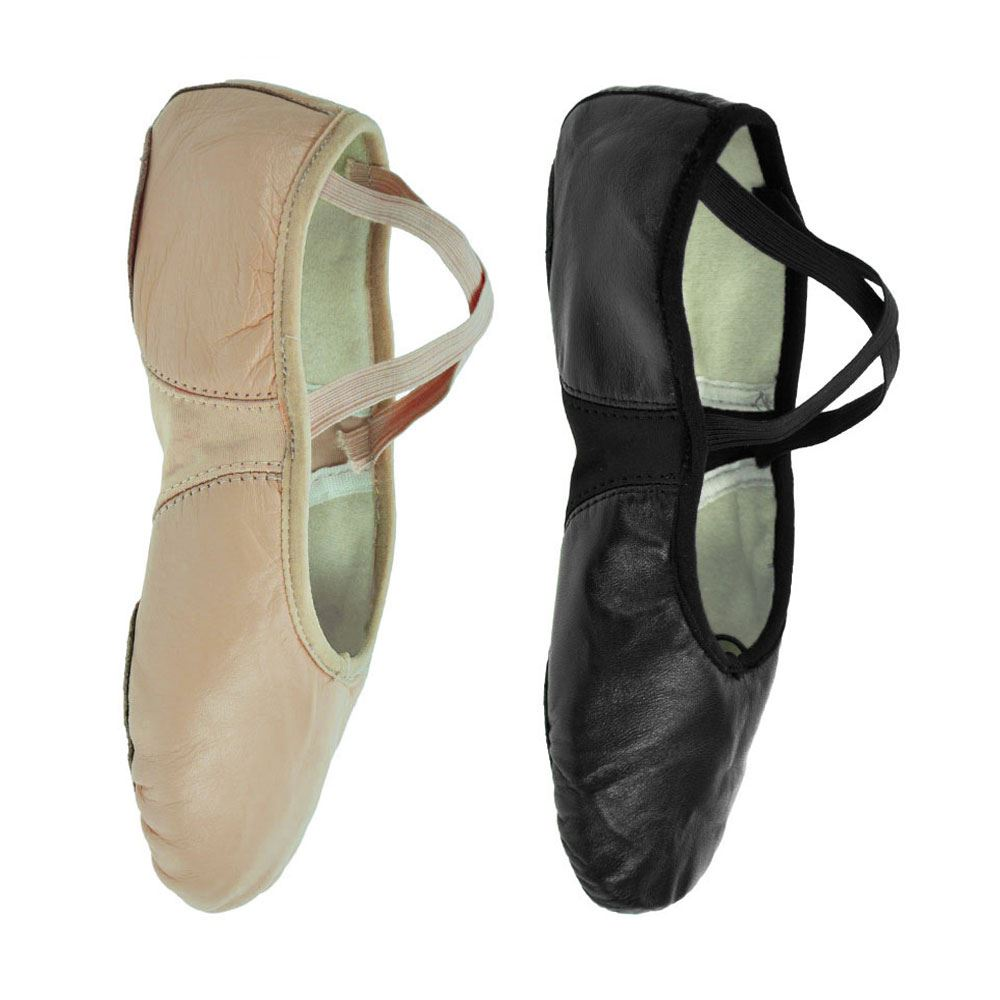 Starlite Pink Leather Ballet Shoes