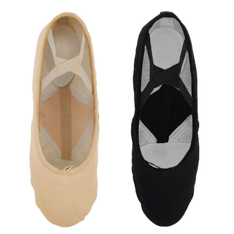 So Danca BAE23 Negro Economy Split Sole Canvas Ballet 11s Hhfmy