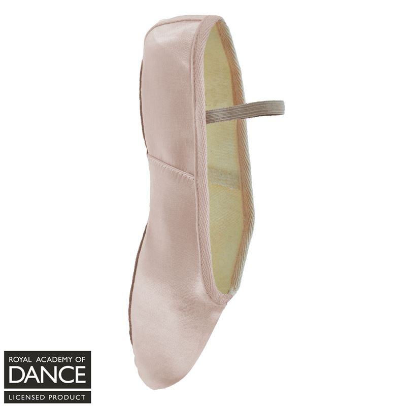 5398a1eaf0a3d Freed Aspire Satin Ballet Shoe, Full Sole - Dancing in the Street