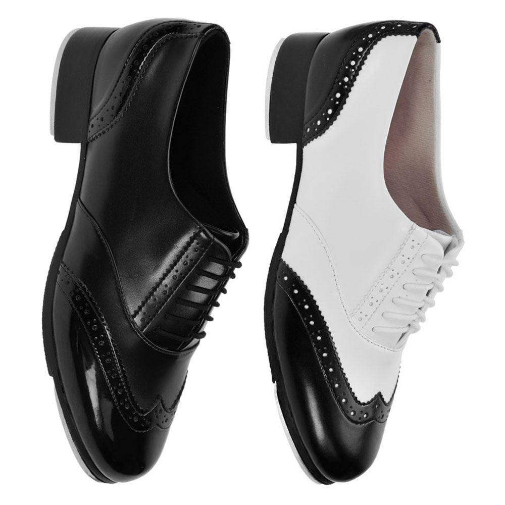 Bloch 341 Charleston Black /& White Tap Dance Shoes