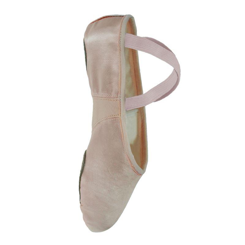 73c611a2dd6 Starlite Flexi Satin Ballet Shoes