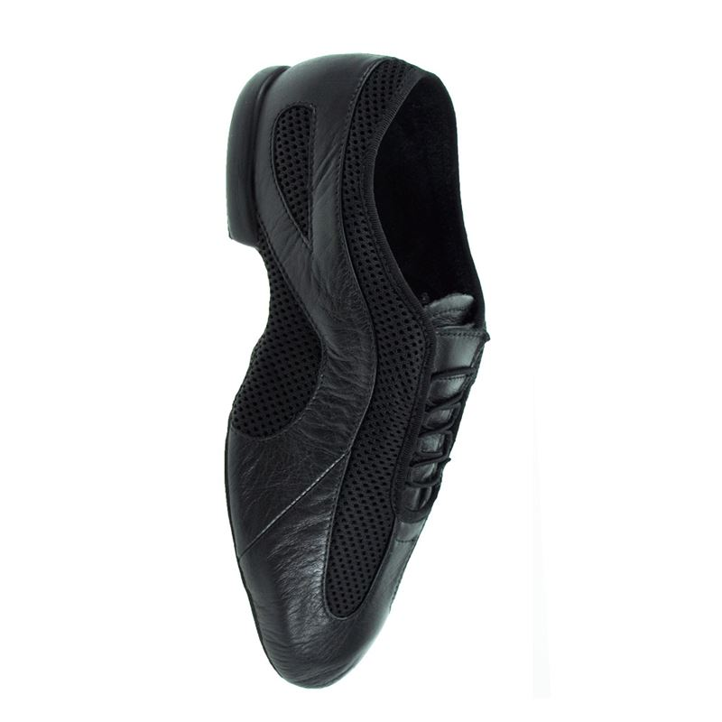 Bloch MENS Slipstream Split Sole Jazz Dance Shoe Black