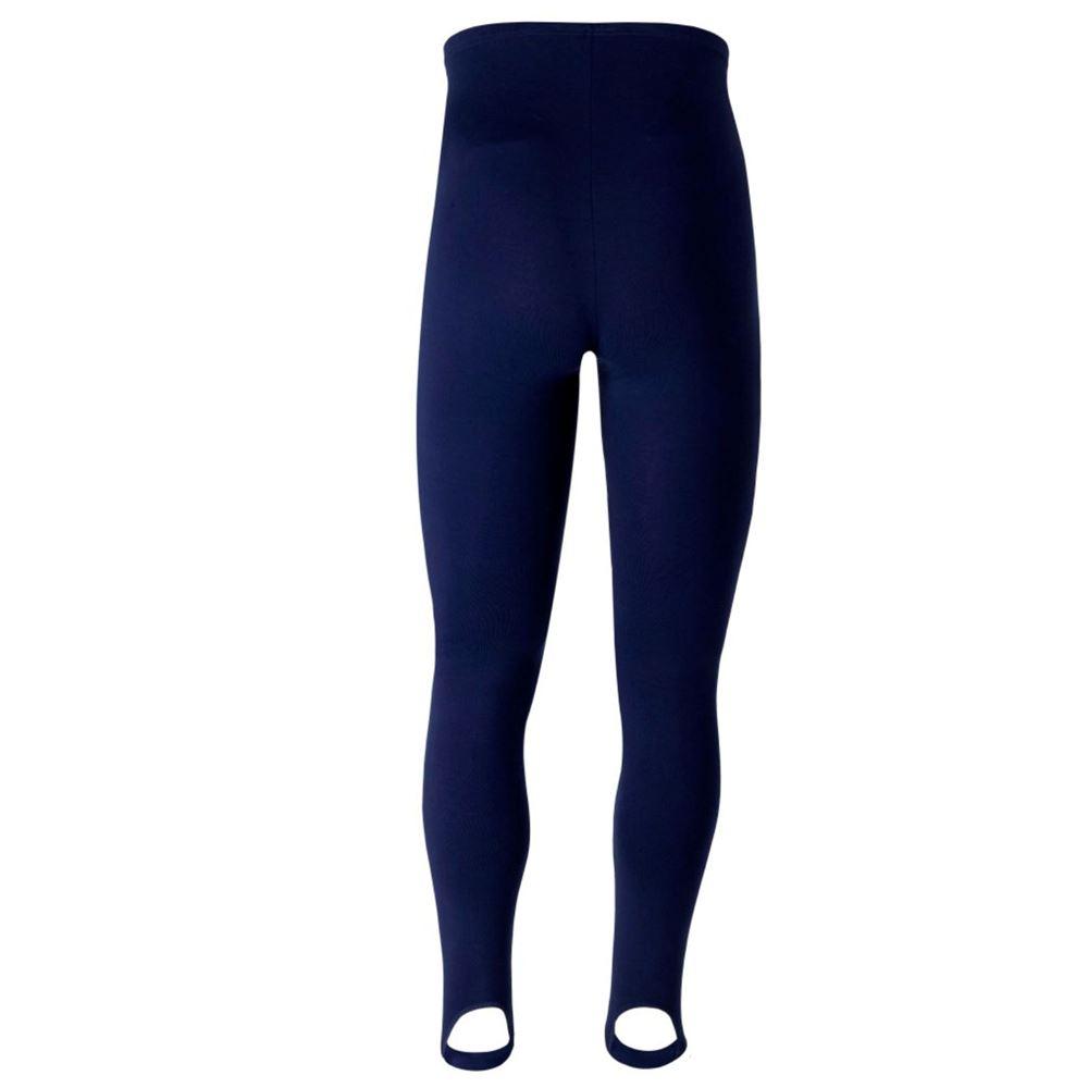 Boys navy cotton lycra shorts by Freed of London.